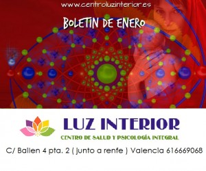 Boletin de enero del Centro Luz Interior