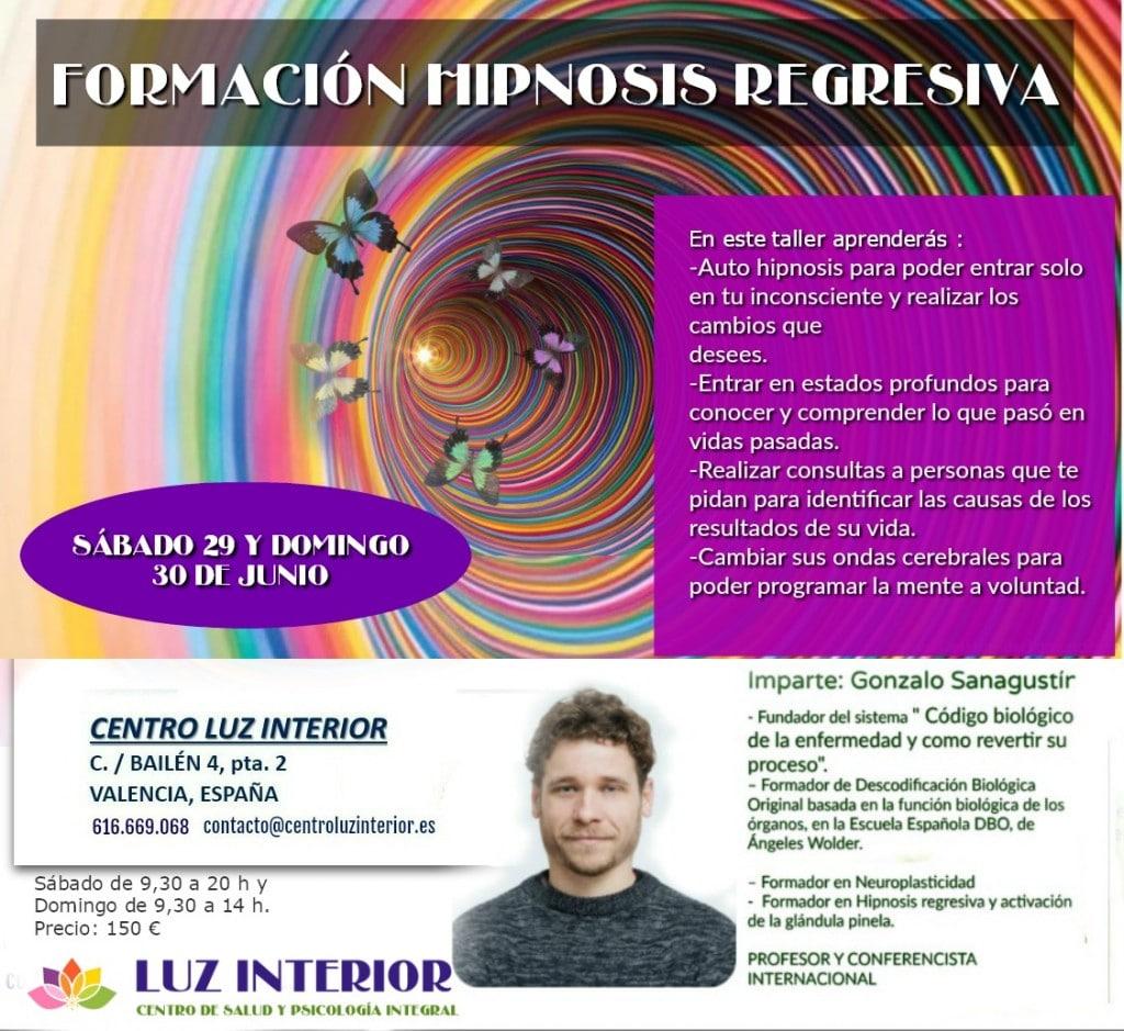 FORMACIÓN EN HIPNOSIS Y TERAPIA REGRESIVA